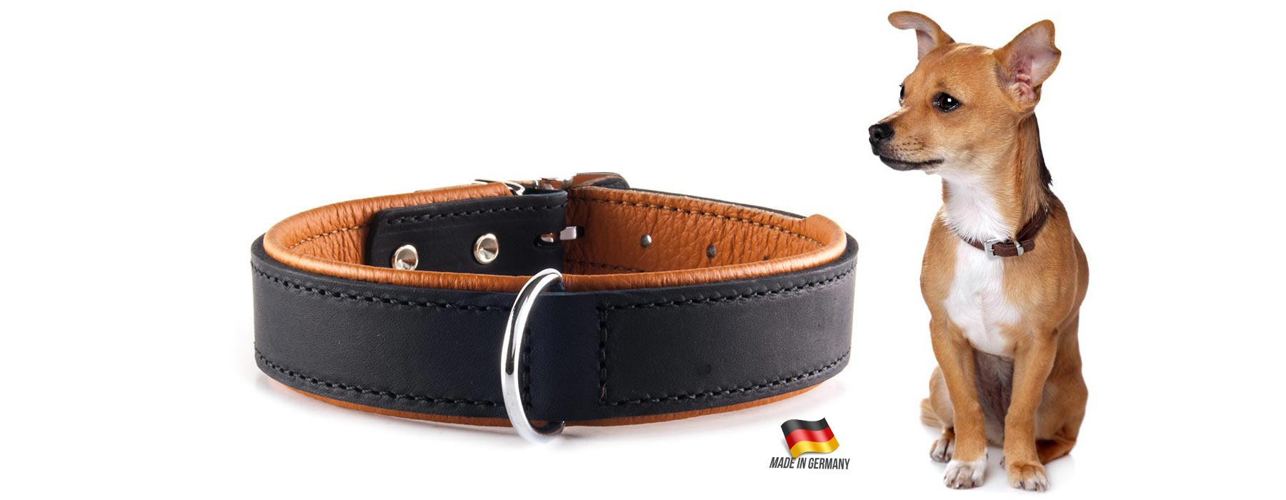Rodeo Cow Leather Collar